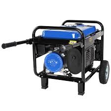 generator portable duromax xp4400e gas powered wheel kit electric