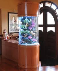 Aquariums As Stylish Room Dividers - Living room divider design ideas
