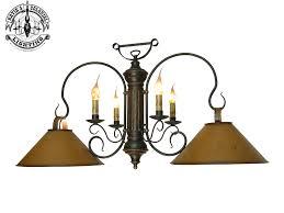 Primitive Light Fixtures Large 2 Shade Timberline Island Light W Four Arms Island Lights