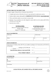 Nys Power Of Attorney by Ny Dmv Dealers And Transporters 18 Free Templates In Pdf Word