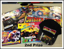 monster trucks monster trucks merchandise 2nd prize wide bay kids