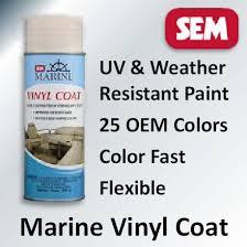 Vinyl Upholstery Spray Paint Sem Vinyl Coat 25 Marine Oem Color Paints For Vinyl U0026 Plastic