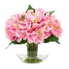 hydrangea bouquet hydrangea artificial flowers you ll wayfair