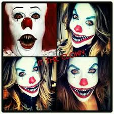 Scary Halloween Clown Costumes 25 Clown Halloween Makeup Ideas Halloween Season