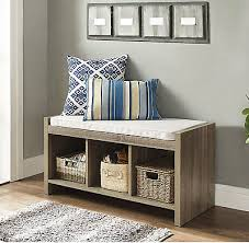 entry way storage bench the modern entryway storage bench with cushion household remodel