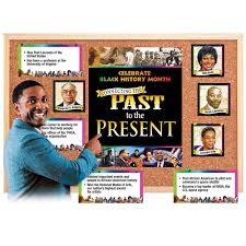 connecting the past to the present bulletin board set positive