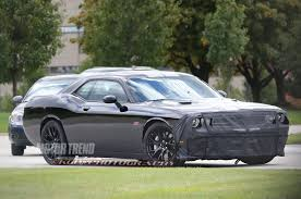 2013 dodge challenger srt8 supercharged spied dodge challenger hellcat s supercharger is showing