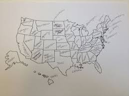 United States Map Art by This Is What Happens When Americans Are Asked To Label Europe And