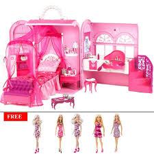 Barbie Kitchen Set For Kids Barbie Doll House Doll Houses Homeshop18