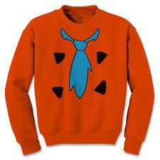Flinstone Halloween Costume Flintstone Halloween Costume Crewneck Sweatshirt