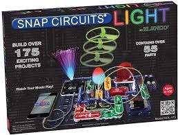 snap circuits lights electronics discovery kit amazon co uk toys