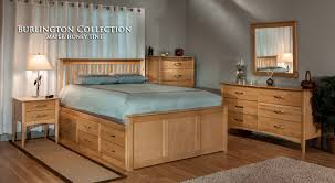 American Made Solid Wood Bedroom Furniture by Wood Bedroom Furniture Burlington Descargas Mundiales Com