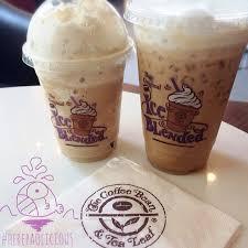 Coffee Bean Blended deluxe vanilla blended iced capp 439 457