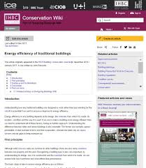 new addition to ihbc u0027s conservation wiki u2013 john edwards on u0027energy