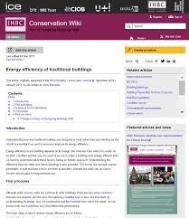 new addition to ihbc u0027s conservation wiki u2013 john edwards on u0027energy