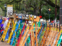 mardi gras ladders gonola flickr of the week what s a parade without ladders