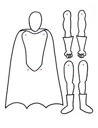 paper doll body template