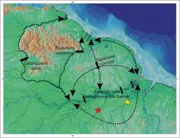 Amazon River On World Map by New Species Of The Pseudancistrus Barbatus Group Siluriformes