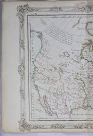 Maps Of New England by 1766 Brion Map Of New Mexico Lousiana Canada And New England