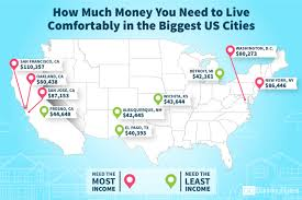 Fresno City College Map What U0027s It Cost To Live U0027comfortably U0027 In Dc 80k Wtop