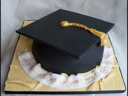 graduation cap cake topper how to make a graduation hat cake tutorial