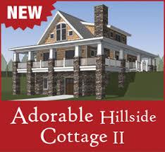 hillside home plans home plans the cottage floor plans home designs commercial