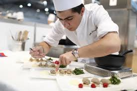 chef of cuisine cooking