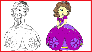 princess sofia coloring pages sofia colouring book colors