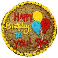 birthday cookie cake triolo s bakery chocolate chip cookie birthday cake
