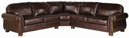 Thomasville Sectional Sofas by Thomasville Leather Choices Benjamin Leather Select 3 Piece