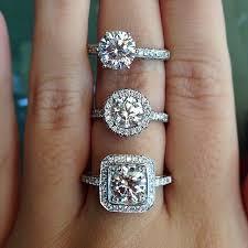 Halo Wedding Rings by Halo Vs No Halo Engagement Rings Halo Engagement Engagement