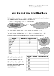 gcse standard form worksheets by eugenesmith teaching resources