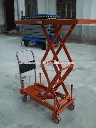 Pallet Lift Table by Portable Electric Scissor High Lift Hydraulic Pallet Lift Table