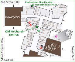 westfield mall map orchard smiles contact us and location