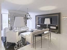 Wohnzimmer Design Schwarz Deco Wohnzimmer Design Mit Schwarz Weißen Möbel Konsole