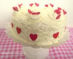 valentines dark u0026 white chocolate ganache cake a village pantry