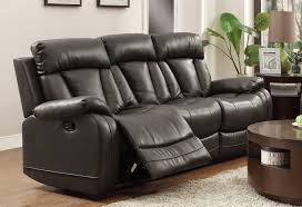 Black Reclining Sofa Cheap Recliner Sofas For Sale Black Leather Reclining Sofa And