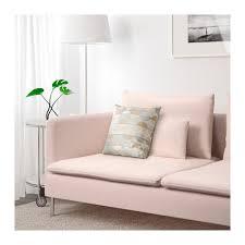 sofa rosa söderhamn 3 seat sofa samsta light pink ikea