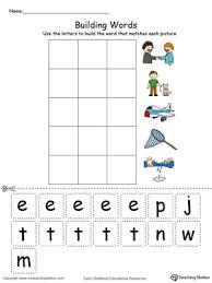 et word family building words in color myteachingstation com