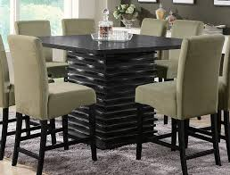 Exellent Black Counter Height Dining Room Sets Homelegance - Counter height dining table in black