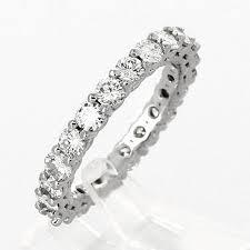 alliance en diamant alliance de mariage femme en or 18 carats et diamants tour complet