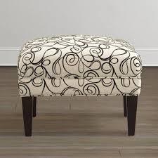 Narrow Storage Ottoman Sofa Leather Ottoman Coffee Table Square Storage Ottoman