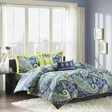 Blue Yellow Comforter Best 25 Yellow Comforter Ideas On Pinterest Yellow Spare