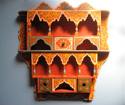 beautiful bohemian decor vintage moroccan spice rack ethnic