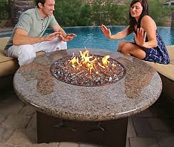 Fire Pit Glass by Outdoor Glass Fire Pit Styles Pixelmari Com