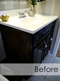 Vintage Cabinet Revamp by Bathroom Vanities Wonderful Easy Tips To Revamp Guest Bathroom