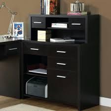 Black Desks With Hutch Desk Desk Design 18 Stupendous Mesmerizing Black Hutch Desk For