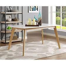 60 inch kitchen table inch retro modern wood dining table walker edison within 60 inch