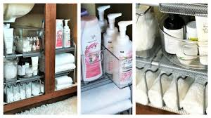 how to organize the sink cabinet new how to organize your bathroom sink tips solutions