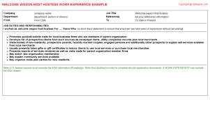Restaurant Server Resume Template Restaurant Server Resume Experience Resume Template 2017